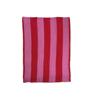 Cerise & Fuchsia Stripe Tea Towel image
