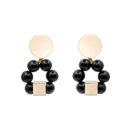 The Jenna Black handcrafted statement earrings image