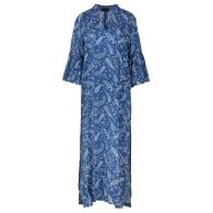 Long Kaftan Style Paisley Dress image
