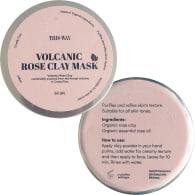 Organic Volcanic Rose Clay Mask image