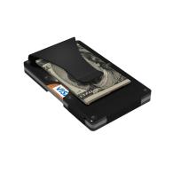 Black Aluminum GRID Wallet image