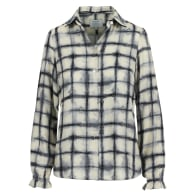 Bay Blouse Blurred Check image