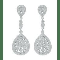 Marie Vintage Style Chandelier Drop Earrings image