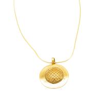 The Honeycomb Pendant image