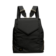 Black Nylon Professional Backpack Tote image