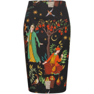 1001 Nights Pencil Skirt image