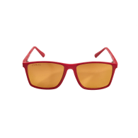 Vaquita Polarised Mirrored Recycled Sunglasses In Red Gold image