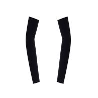 'Half Sleeves' Black Fingerless Gloves image