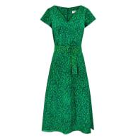 Eva Dress - Flecked Emerald image