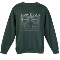 Slow Down Empathy Sweatshirt image