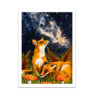 Stargazing Print image