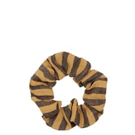 Mill Linen Zero Waste Scrunchie - Cinnamon image