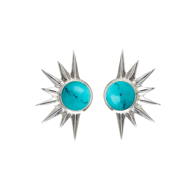 Total Eclipse Studs - Turquoise image