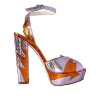 Zia 140 Heels - Rose & Orange image
