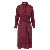 Esme Silk Shirt Dress in Dappled Bloom image