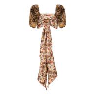 Babita top, upcycled silk image