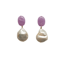 Lilac Pearl Earring image