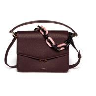 Teca Plexi Chain Bag - Pink & Purple image