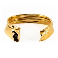 Entrelacé Cuff Bracelet In Gold image