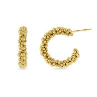 Bubble Hoop Earrings image