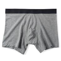Men's Jersey Boxer Brief - Grey image