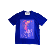 Merman Art Print T-Shirt image