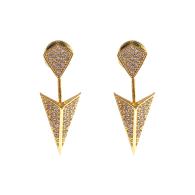 Arrow Ear Jackets Gold image
