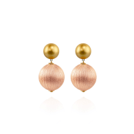 Sonia Earrings In Soft Shell image