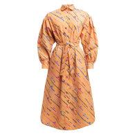 TOK Oversized Shirt Dress 'Fishing Rod' image