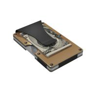 Gold Aluminum  GRID Wallet image
