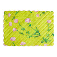 Quilted Cotton Placemat - Yellow Multi image