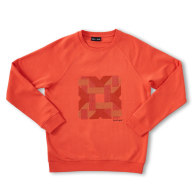 Designer Embroidered Sweater Coral 'Rattan' image