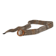 Early Spring Knitted Belt - February image