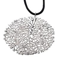 Ariel Silver Coral Necklace image