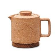 Cisco Ceramic Tea Pot - Natural Earth Green image