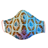 Blue Tiger Chinoiserie Non-Medical Face Mask image