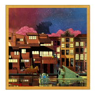 The Dusk Of Cat Town - 55Cm image