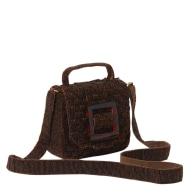 Uncovered Layers Handbag Brown image