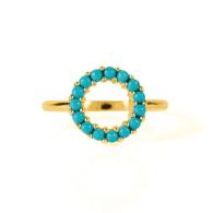 Halo Radiance Ring - Gold image