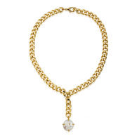 One Pearl Chain Necklace image