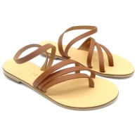 Leather Straps Sandals Cybele Tan image