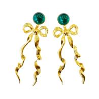 emerald elongated bow image
