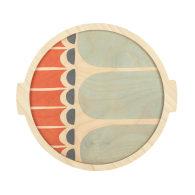 Shifen Medium Round Plywood Tray image