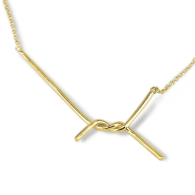 Amarres Gold-Plated Necklace Mini image