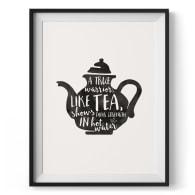 Warrior Tea Giclée Print (Their) image