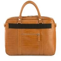Laptop Bag Brown Crocco image