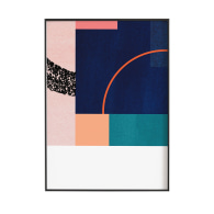 Abstract 002 Giclée Print In Multi-Colour image