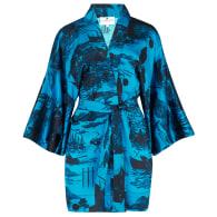 Kimono In Doomed Voyage Print Ocean image