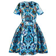 Dress Marie Antoinette Bug Blue image