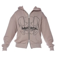 Immortal Embroidered Men's Hoodie image
